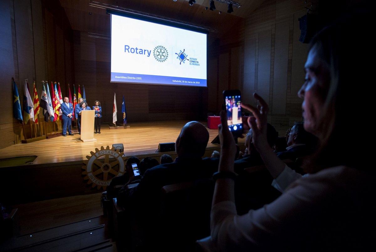 Asamblea Rotary, Valaldolid. ALBERTO MINGUEZA